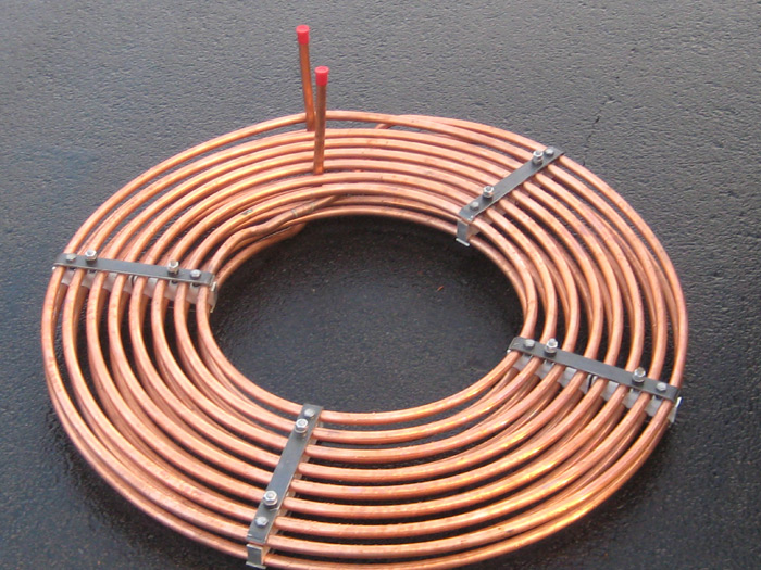 Heat Exchanger Coils Stacked Spiral Coils