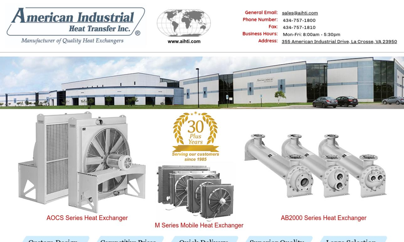 American Industrial Heat Transfer, Inc.