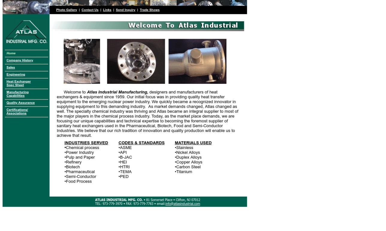 Atlas Industrial Mfg. Co.