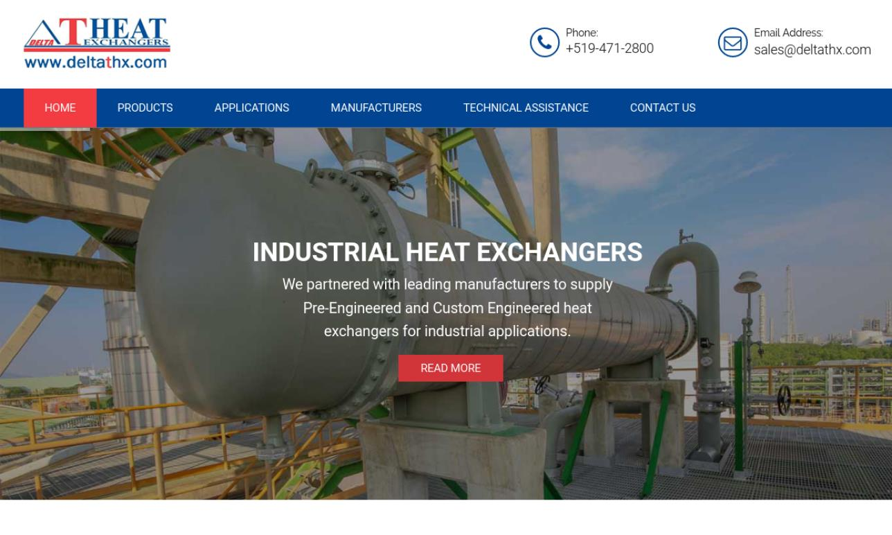 Delta T Heat Exchangers