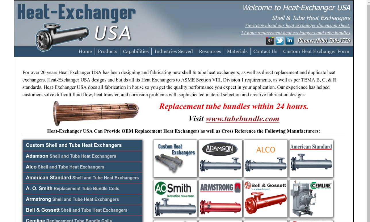 Heat Exchanger USA