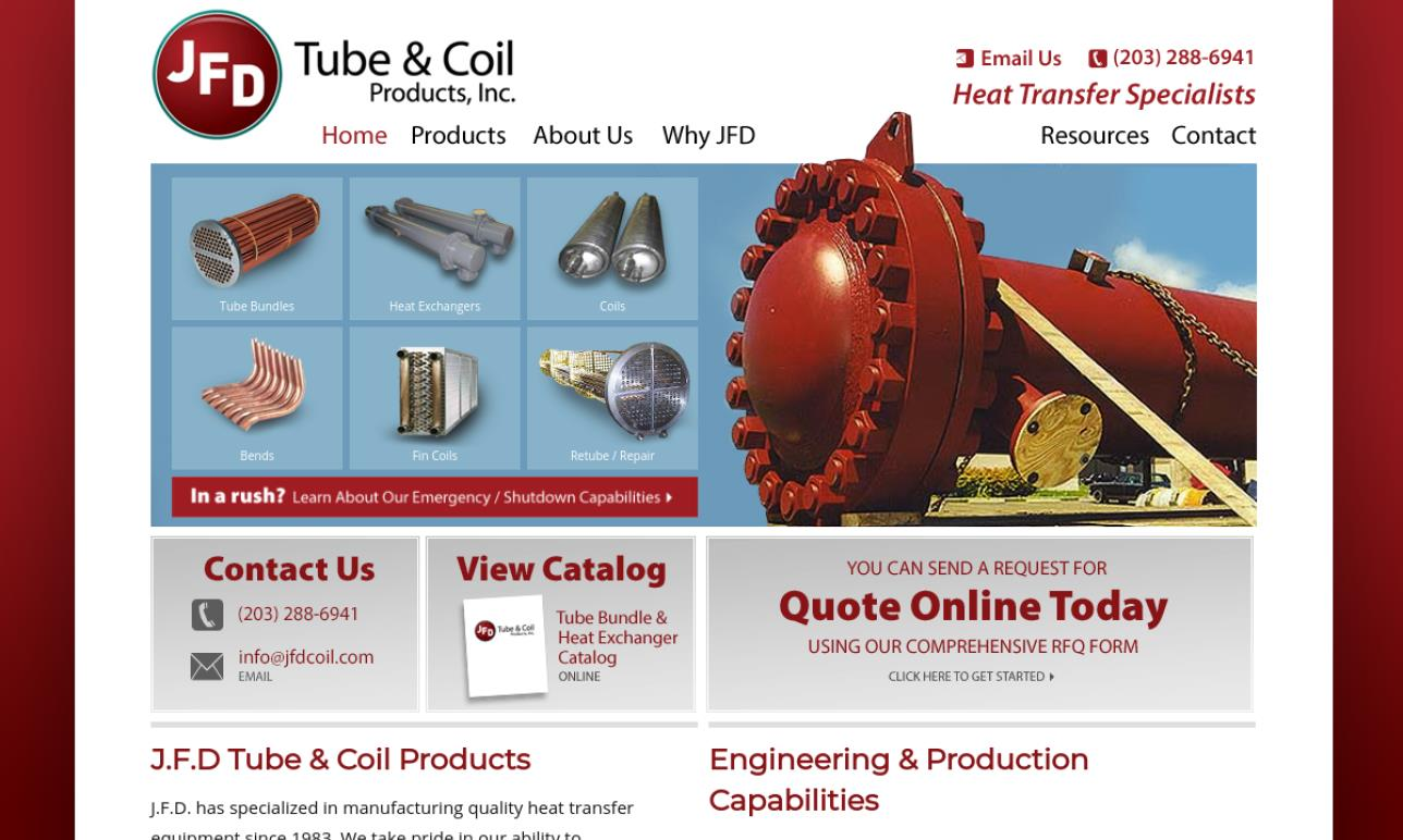 JFD Tube & Coil Products, Inc.