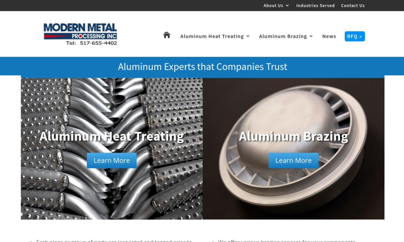 Modern Metal Processing, Inc.