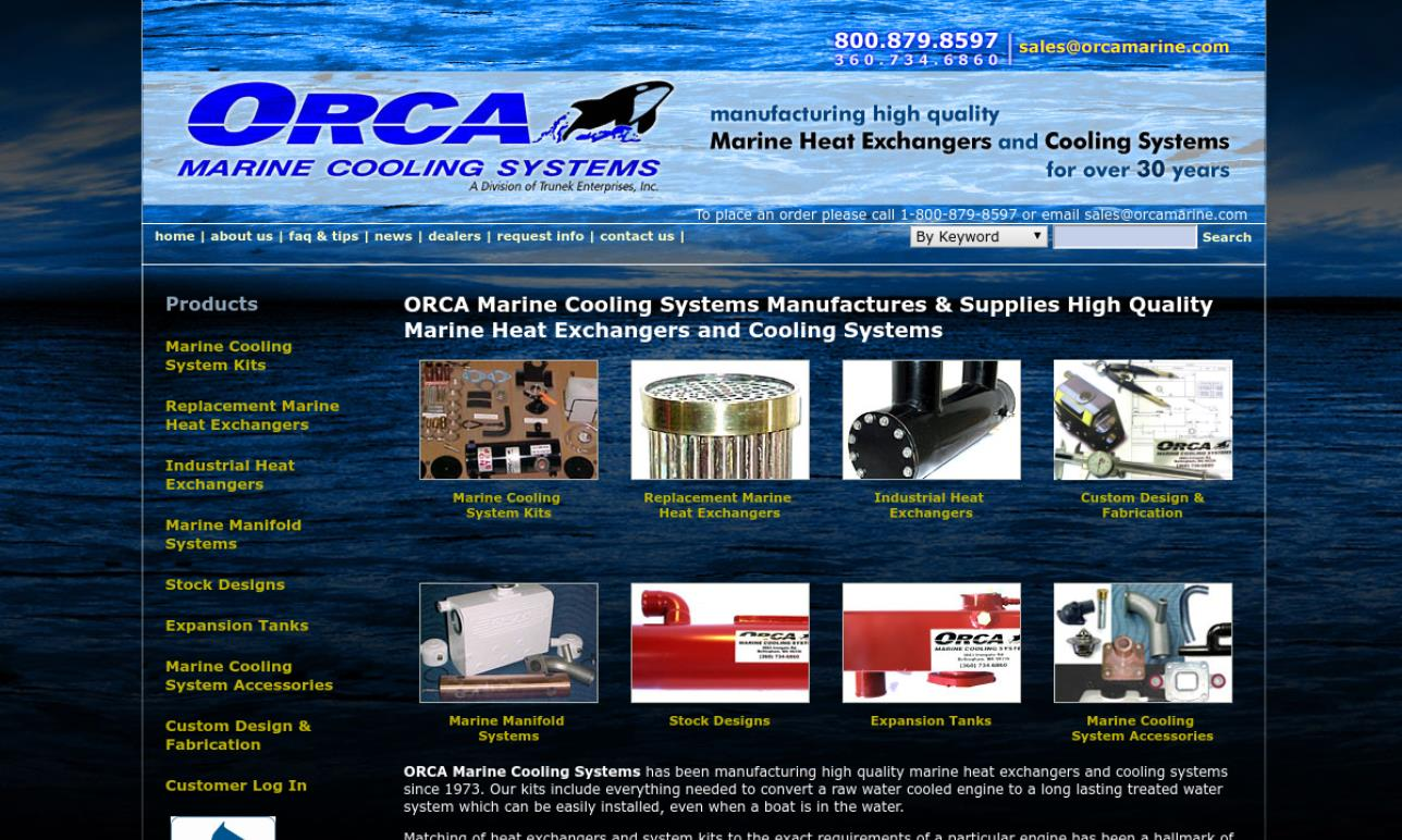 Orca Marine Cooling Systems