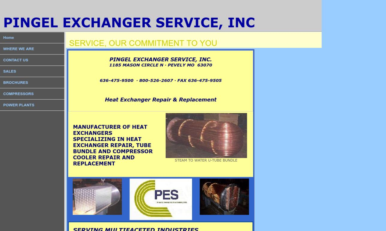 Pingel Exchanger Service, Inc.