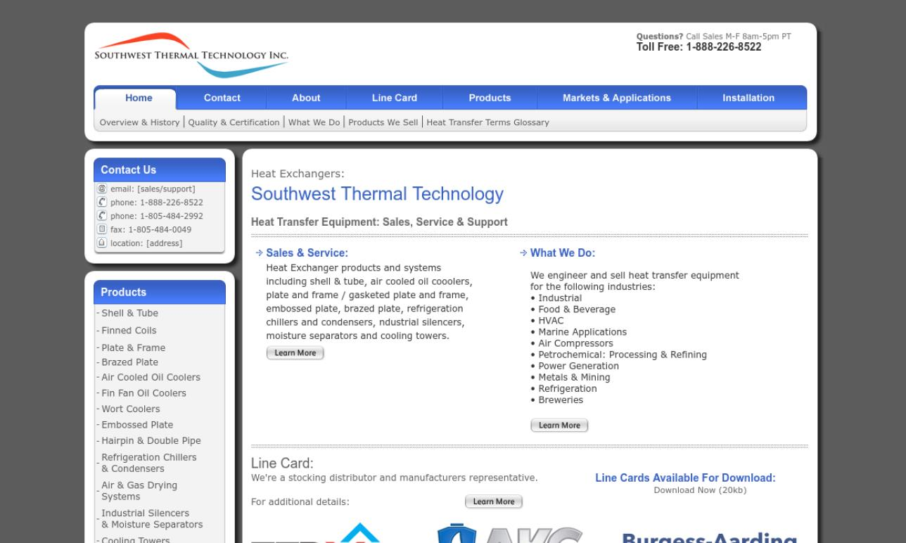 Southwest Thermal Technology Inc.