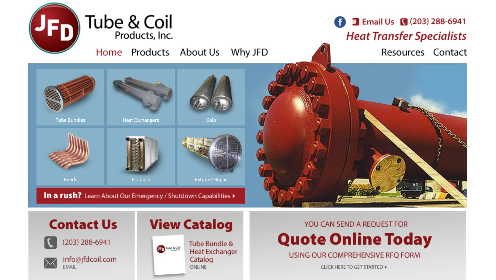 JFD Tube & Coil Products