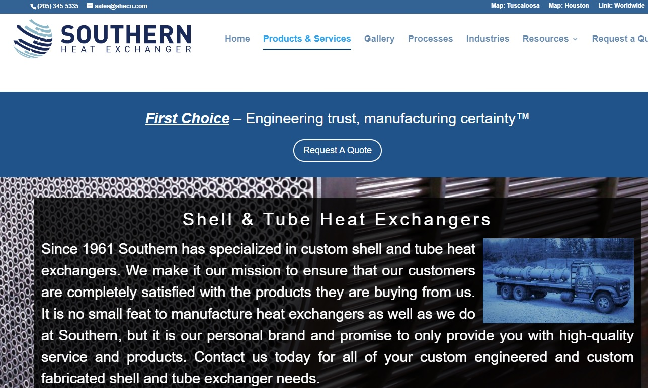 Southern Heat Exchanger Corp.
